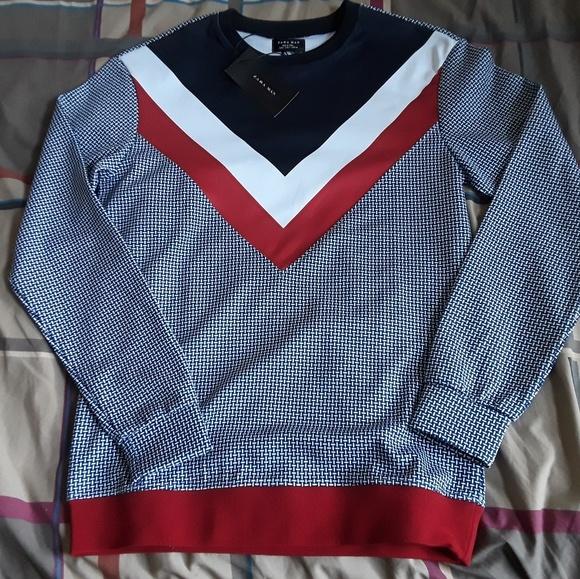 ellesse sweater white zara